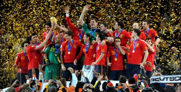 Selección española, campeona del mundo