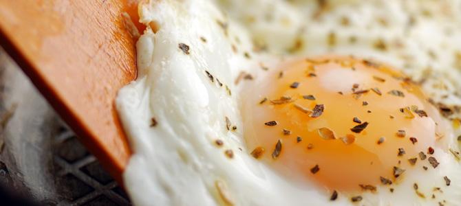Huevos fritos de lujo