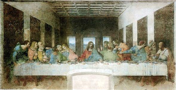 Leonardo Da Vinci en la cocina