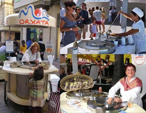 Los carritos de Mon Orxata. Foto: Mon Orxata.