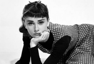 Audrey Hepburn en la cocina
