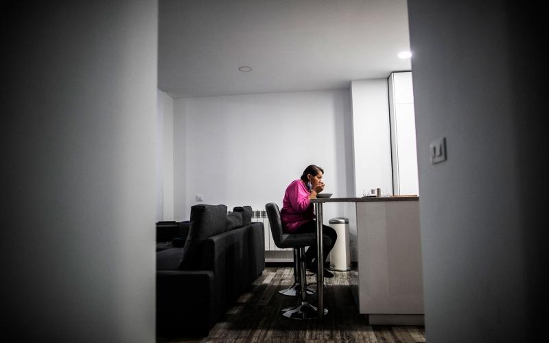 """""""Vivir sola es como una cuarentena permanente"""""""