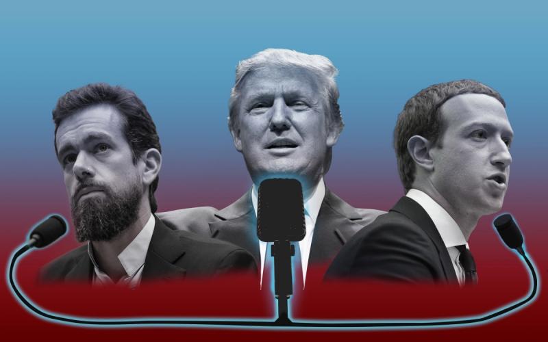 Zuckerberg y Dorsey: puños de hierro disfrazados de democracia